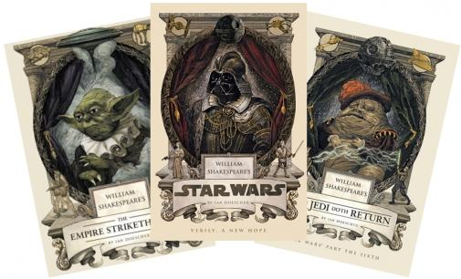 Image result for william shakespeare star wars